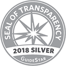 Guidestar 2018 Silver Seal of Transparency Logo