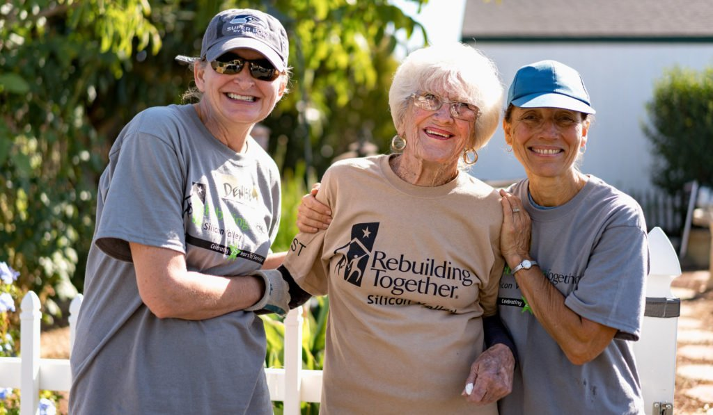 Homeowner with RTSV Volunteers