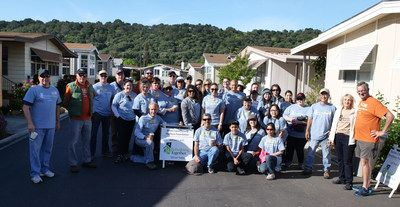 Volunteers from the Santa Clara County REALTORS® Foundation